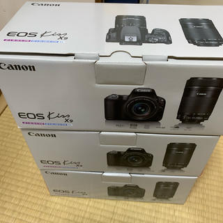 Canon eos kiss 9 ダブルズームキット 新品未開封