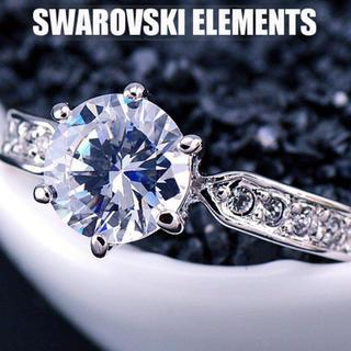 SWAROVSKI - ✨定価6800円✨★SWAROVSKI★ 結婚指輪  リング スワロフスキー