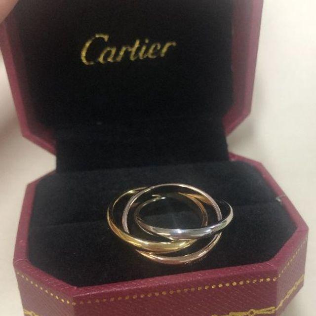 Cartier(カルティエ)のCARTIERトリニティリング  レディースのアクセサリー(リング(指輪))の商品写真