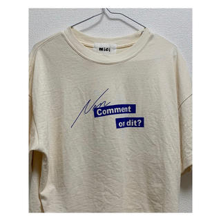 ローズバッド(ROSE BUD)のTシャツ(Tシャツ(半袖/袖なし))