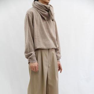 コモリ(COMOLI)のURU 18aw ニットポロ(ニット/セーター)