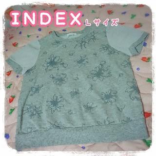 インデックス(INDEX)の🌼トップス3点まとめ売り🌼(カットソー(半袖/袖なし))