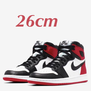 ナイキ(NIKE)のNIKE AIR JORDAN 1 SATIN BLACK TOE サテン(スニーカー)