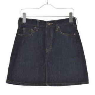ローリーズファーム(LOWRYS FARM)の台形デニムスカート(ミニスカート)