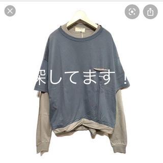 サンシー(SUNSEA)のネオンサイン  サンドウィッチTシャツ (Tシャツ/カットソー(七分/長袖))