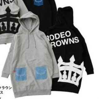 RODEO CROWNS WIDE BOWL -  新品☆RODEO CROWNS☆ラゾーナ川崎☆デニムポケットパーカーワンピ
