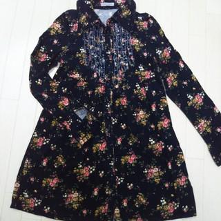 リズリサ(LIZ LISA)の秋冬先取り☆女の子150-160❤花柄チュニック(ワンピース)