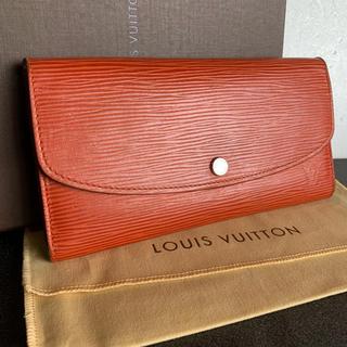 ルイヴィトン(LOUIS VUITTON)の格安 美品 ルイヴィトン エピ 長財布(財布)