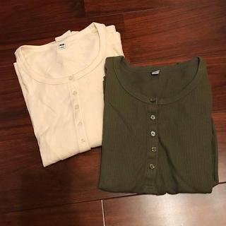 ユニクロ(UNIQLO)のユニクロ ワッフルTセット(Tシャツ(長袖/七分))