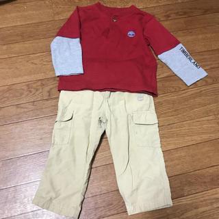 ティンバーランド(Timberland)のティンバーランド 上下セット 2T(Tシャツ/カットソー)