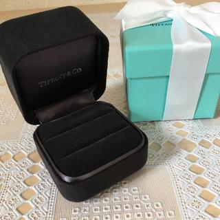 Tiffany & Co. - ティファニー ペア リングケース リボン付き