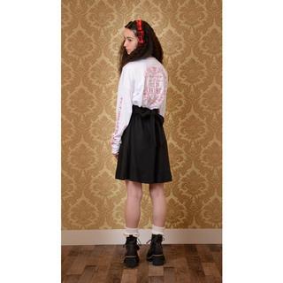 Katie - 新品 katie ケイティ mad honey リボン スカート ブラック