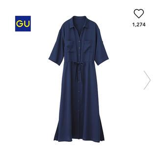 GU - ロングシャツワンピース♥