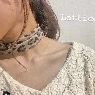 Kastane - lattice  スカーフ☺︎