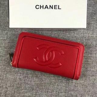 CHANEL - CHANEL 財布 レッド