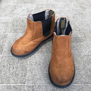 アンパサンド(ampersand)のAmpersand ブラウン ショートブーツ 16.0(ブーツ)