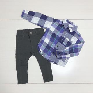 BREEZE - スキニーパンツ チェックシャツ まとめ売り