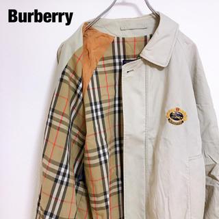 BURBERRY - 希少 90s バーバリー ノバチェック スウィングトップ ブルゾン