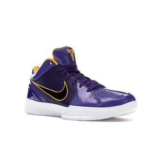 NIKE - Kobe 4 Protro Undefeated Lakers 26.5cm