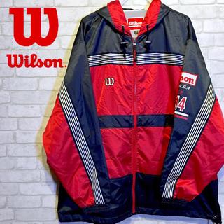 ウィルソン(wilson)の【Wilson】SINCE 1914 ナイロンジャケット サイズO【XLサイズ】(ナイロンジャケット)
