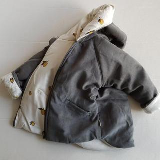 ボンポワン(Bonpoint)の24-36m♡kongessloejd レモン柄ジャケット コート パーカー(ジャケット/上着)
