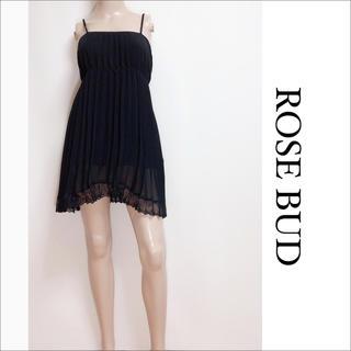 ローズバッド(ROSE BUD)のROSE BUD プリーツ チュニック ワンピース♡ザラ snidel シップス(チュニック)