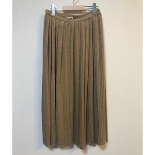 Drawer - ブラミンク  シルク混合 ニットプリーツスカート 38