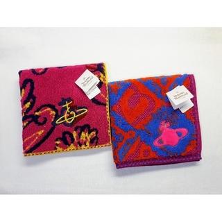 Vivienne Westwood - 【送料無料】未使用■ヴィヴィアンウエストウッド■タオルハンカチ■2枚■ピンク