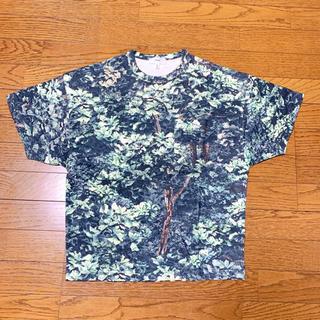 ハイク(HYKE)のHYKE リーフカモ柄Tシャツ(Tシャツ(半袖/袖なし))