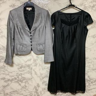 SOIR - 大きいサイズ COCCOLUSSI  セットアップ スーツ  東京ソワール