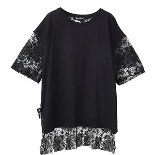 ヒステリックグラマー(HYSTERIC GLAMOUR)のHYSTERIC BEAR レース プルオーバー(Tシャツ(半袖/袖なし))