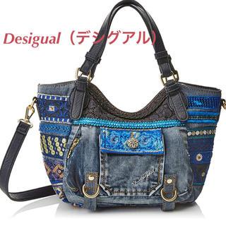 デシグアル(DESIGUAL)の新品♡定価13900円 デシグアル デニム スパンコール✨バッグ 大特価❣️(ショルダーバッグ)