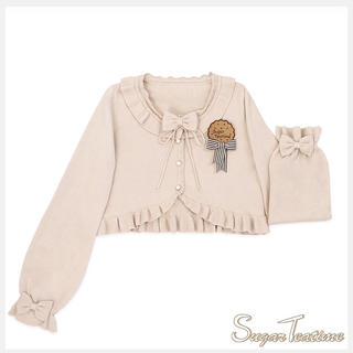 Angelic Pretty - Sugar-Teatime Candy ベージュ カーディガン