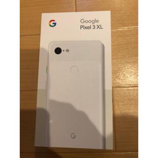 ANDROID - SIMフリー docomo Pixel3 XL 128GB ホワイト 新品
