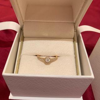 ヴァンドームアオヤマ(Vendome Aoyama)のヴァンドーム ダイヤモンドグレースリング K18 VA jasmine様専用(リング(指輪))