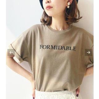 IENA - 【新品タグ付】IENA ロゴプリントTシャツ