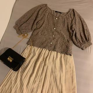 しまむら - ★コーデセット★レースブラウス&ロングプリーツスカート
