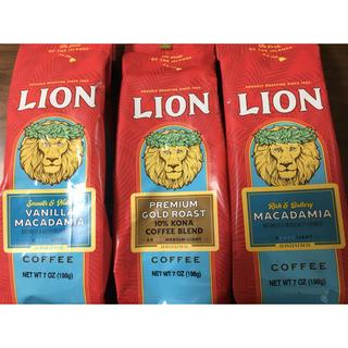 LION - 【送料込】ライオンコーヒー3袋セット(198g×3袋)