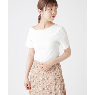 ミスティック(mystic)のmystic ワンショルデザインT オフホワイト 白(Tシャツ(半袖/袖なし))