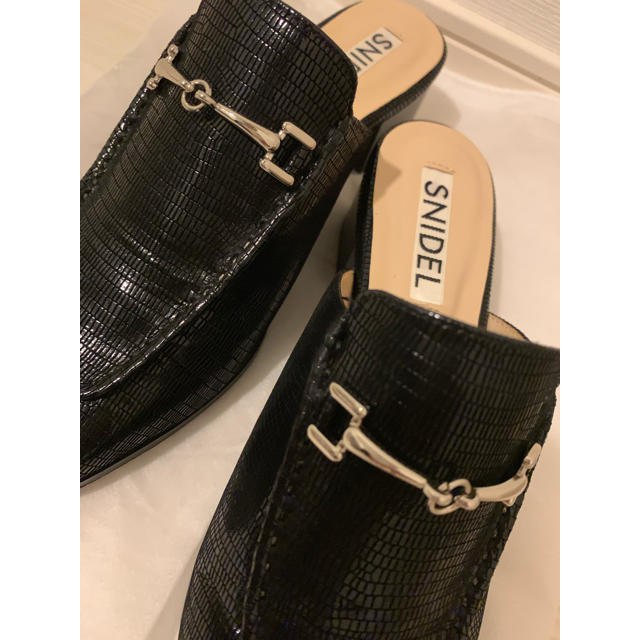 snidel(スナイデル)の♡お値引しました♡ SNIDEL ローファーサボ レディースの靴/シューズ(ローファー/革靴)の商品写真