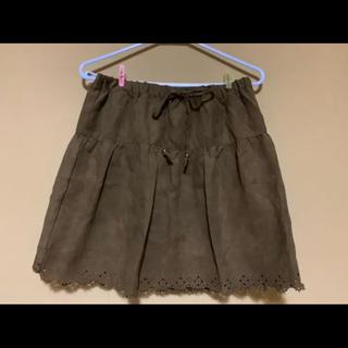 カーキ色 スカート (型紙/パターン)