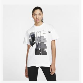 サカイ(sacai)のnike  × sacai T-shirt 白 2XL(Tシャツ(半袖/袖なし))