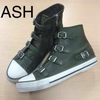 アッシュ(ASH)のASH VIRJINレザースニーカー(スニーカー)