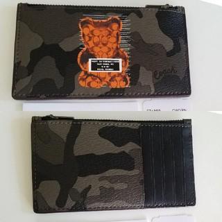 コーチ(COACH)の新品【COACH】限定コラボ カードケース Vandal Gummy ガミーベア(名刺入れ/定期入れ)