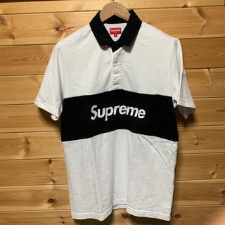 Supreme - supreme ラガー シャツ rugby ポロシャツ Mサイズ