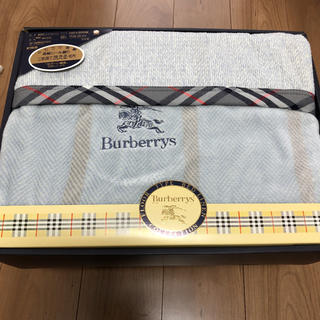 BURBERRY - Burberry バーバリー 高級シール織 綿毛布