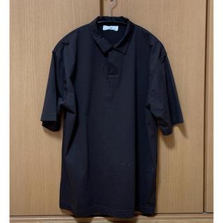 COMOLI - unfil suvin cotton jersey polo shirt 3