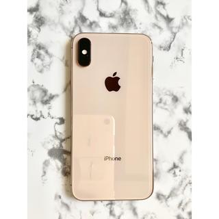 iPhone - iPhone XS  64GB ゴールド SIMフリー