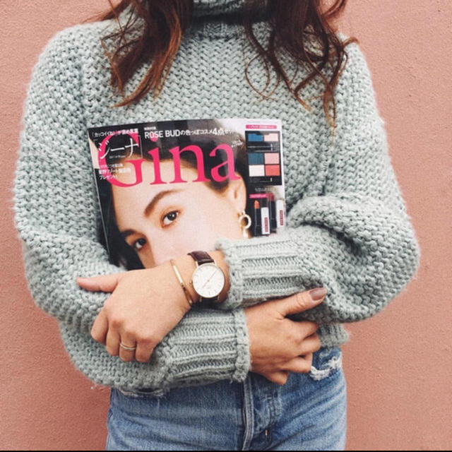 H&M(エイチアンドエム)のH&M チャンキーニット セーター かぎ編み リブニット レディースのトップス(ニット/セーター)の商品写真