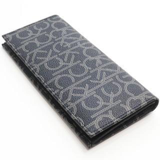Calvin Klein - 新品 カルバンクライン 二つ折り 長財布 ロゴモノグラム 札入れ 財布 小銭入れ